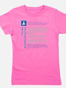 Breastfeeding In Public Law - Florida Girl's Tee