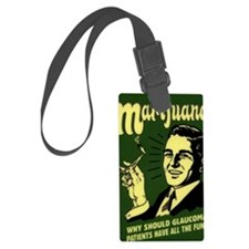 Weed Poster Luggage Tag