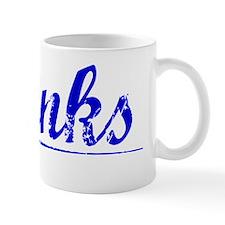 Shanks, Blue, Aged Mug