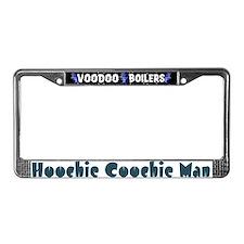 Hoochie Coochie Man License Plate Frame