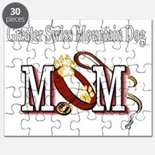 Greater Swiss Mtn Dog Mom Puzzle