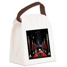 Red Carpet Canvas Lunch Bag