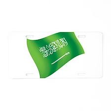 Saudi Arabia Flag Aluminum License Plate