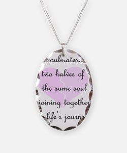 Soulmates (faded heart design) Necklace