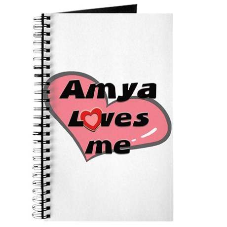 amya loves me Journal