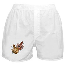 two spinning dreidels Boxer Shorts