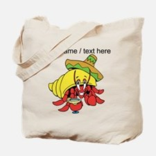Custom Mexican Hermit Crab Tote Bag