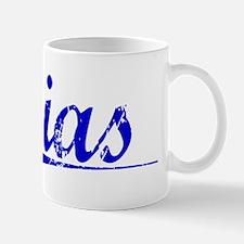 Sias, Blue, Aged Small Small Mug