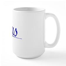 Sias, Blue, Aged Mug