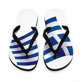 Greek flag Flip Flops