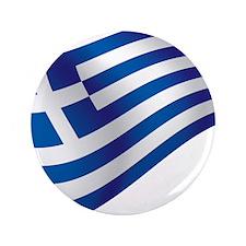 "Greek Flag 3.5"" Button (100 pack)"