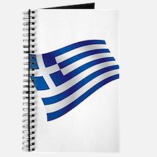 Greek Flag Journal