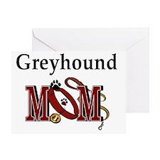 Greyhound Mom Greeting Card