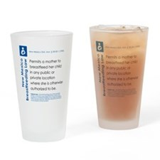 Breastfeeding In Public Law - New M Drinking Glass