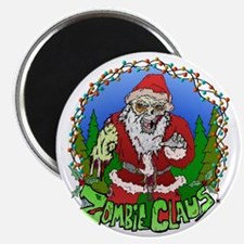 Zombie Claus Magnet