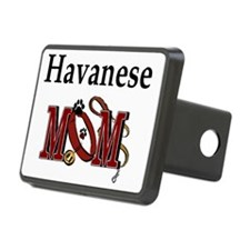 Havanese Mom Hitch Cover