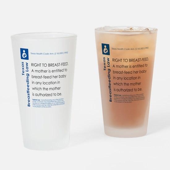 Breastfeeding In Public Law - Texas Drinking Glass