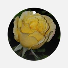 Yellow Rose of Texas Round Ornament