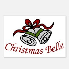 Christmas Belle Postcards (Package of 8)