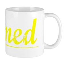 Ahmed, Yellow Small Mug