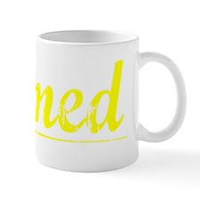 Ahmed, Yellow Small Mug