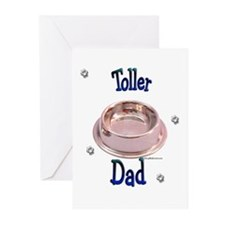 Toller Dad Greeting Cards (Pk of 10)