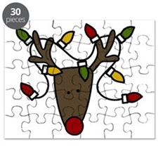 Holiday Reindeer Puzzle