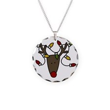 Holiday Reindeer Necklace
