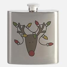 Holiday Reindeer Flask