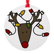 Holiday Reindeer Ornament
