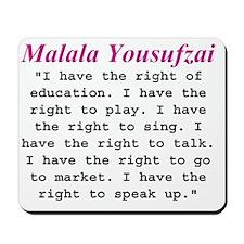 malalas rights 1 Mousepad