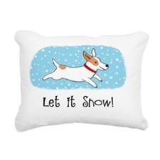 jrtsnowcardCP Rectangular Canvas Pillow