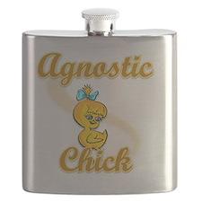 Agnostic Chick #2 Flask