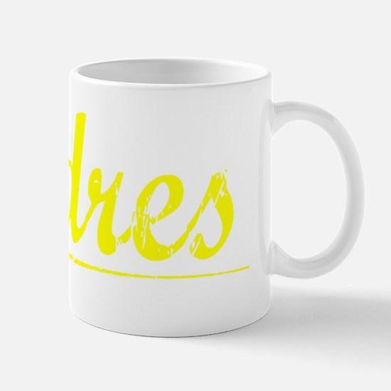 Andres, Yellow Mug
