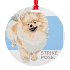 Pom Pose Ornament