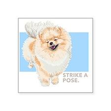 """Pom Pose Square Sticker 3"""" x 3"""""""