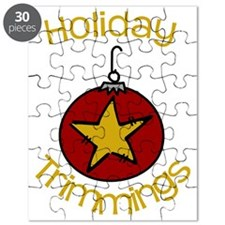 Holiday Trimmings Puzzle