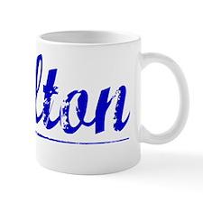 Skelton, Blue, Aged Mug