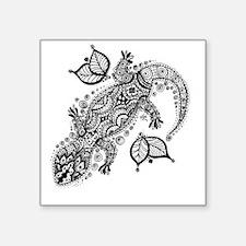 "Gecko Square Sticker 3"" x 3"""