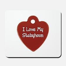 Love My Stabyhoun Mousepad