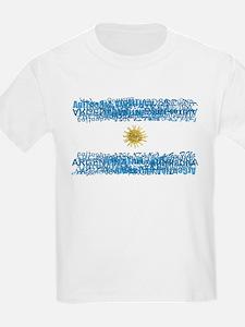 Textual Argentina Kids T-Shirt