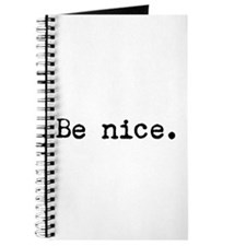 Be Nice Journal