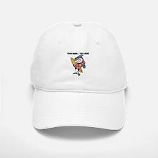 Custom Shark Surfer Baseball Baseball Baseball Cap