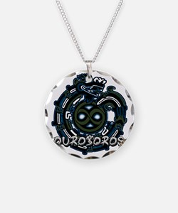 Ouroboros Blue Necklace