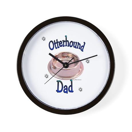Otterhound Dad Wall Clock