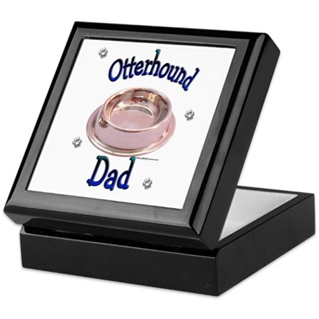 Otterhound Dad Keepsake Box
