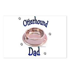 Otterhound Dad Postcards (Package of 8)