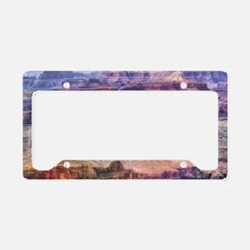 sunset Grand Canyon License Plate Holder