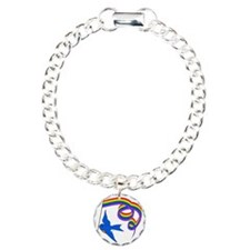 GLBTQ Blue Bird Bracelet