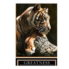 Greatness Motivational Po Postcards (Package of 8)